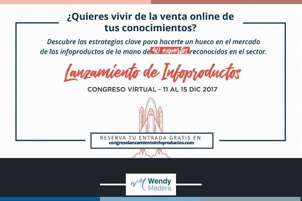 Congreso Virtual: Lanzamiento de Infoproductos
